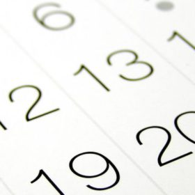 Holiday periods, Important days